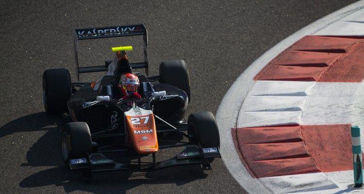 2015 GP3 Series Test 4. Yas Marina Circuit, Abu Dhabi, United Arab Emirates. Thursday 3 December 2015. Antonio Fuoco (ITA, Trident)  Photo: Sam Bloxham/GP3 Series Media Service. ref: Digital Image _SBL1255