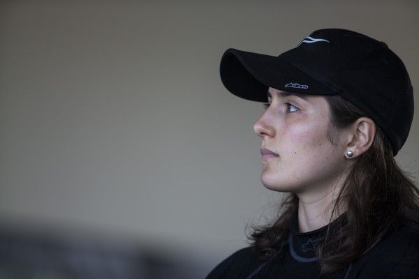 2015 GP3 Series Test 4. Yas Marina Circuit, Abu Dhabi, United Arab Emirates. Thursday 3 December 2015. Tatiana Calderon (COL, Status Grand Prix)  Photo: Sam Bloxham/GP3 Series Media Service. ref: Digital Image _SBL1989