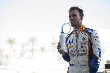 2015 GP2 Series Test 3. Yas Marina Circuit, Abu Dhabi, United Arab Emirates. Wednesday 2 December 2015. Luca Ghiotto (ITA, Trident). Photo: Zak Mauger/GP2 Series Media Service. ref: Digital Image f13403640
