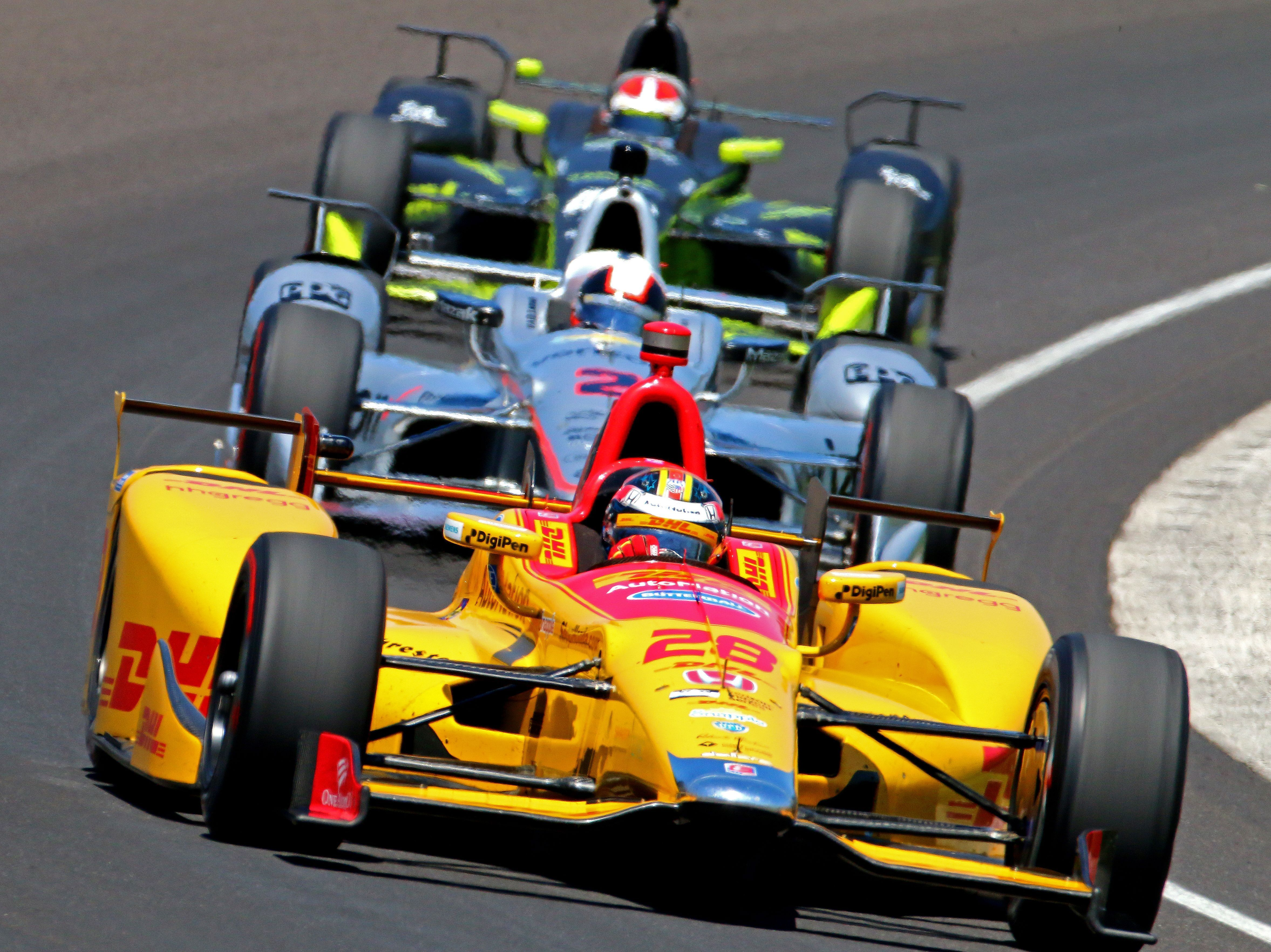 Honda Teams Impress In Indy 500 Practice