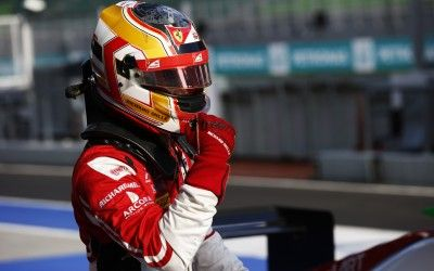 Charles Leclerc (FRA, ART Grand Prix) takes pole