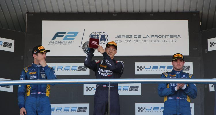 Artem Markelov wins in Jerez