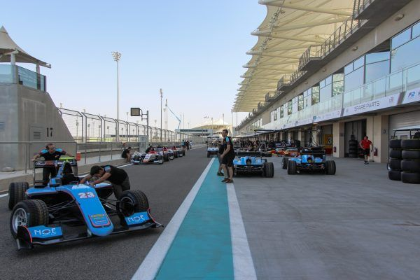 Yas Marina Circuit, F2 Pitlane