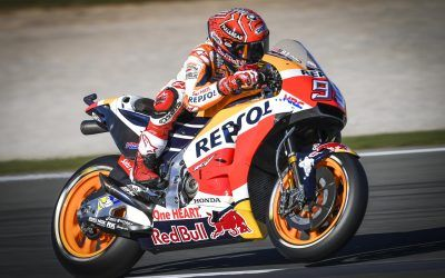 marc marquez pole position cheste