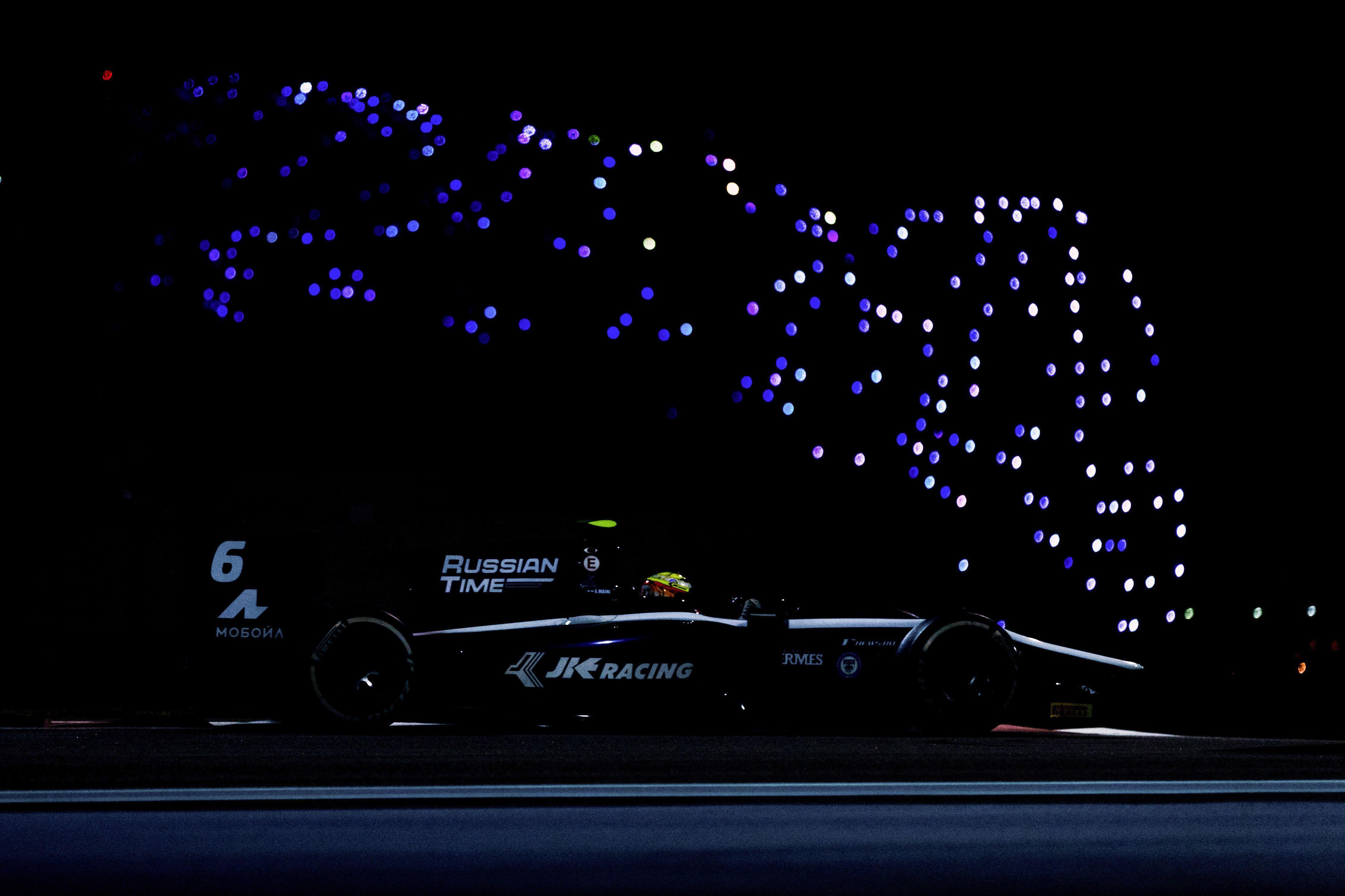 Arjun Maini leads day two of testing in Abu Dhabi