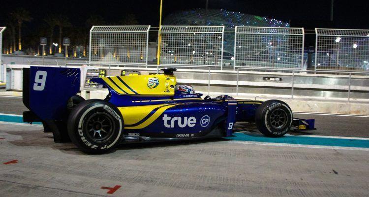 Alex Albon tops final day Yas Marina Test