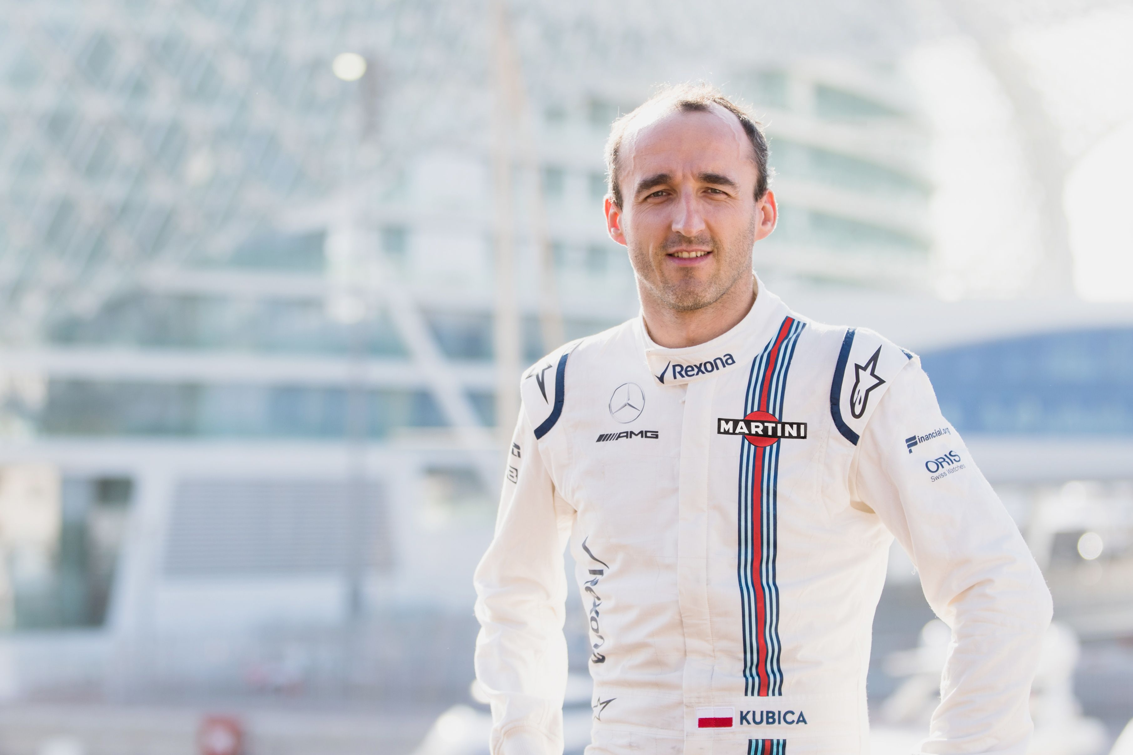 Williams Announces Robert Kubica As 2018 Reserve And