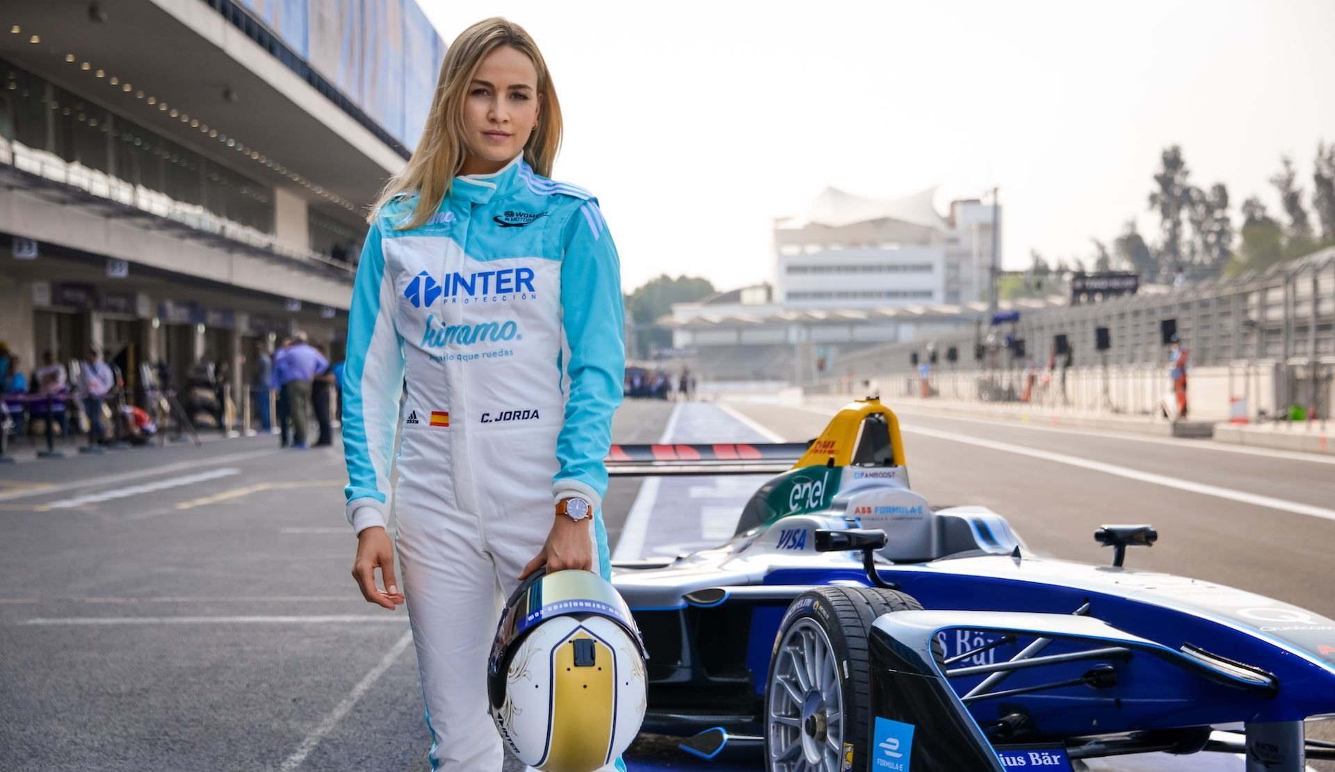 Carmen Jorda Sets Fire To The F1 Paddock