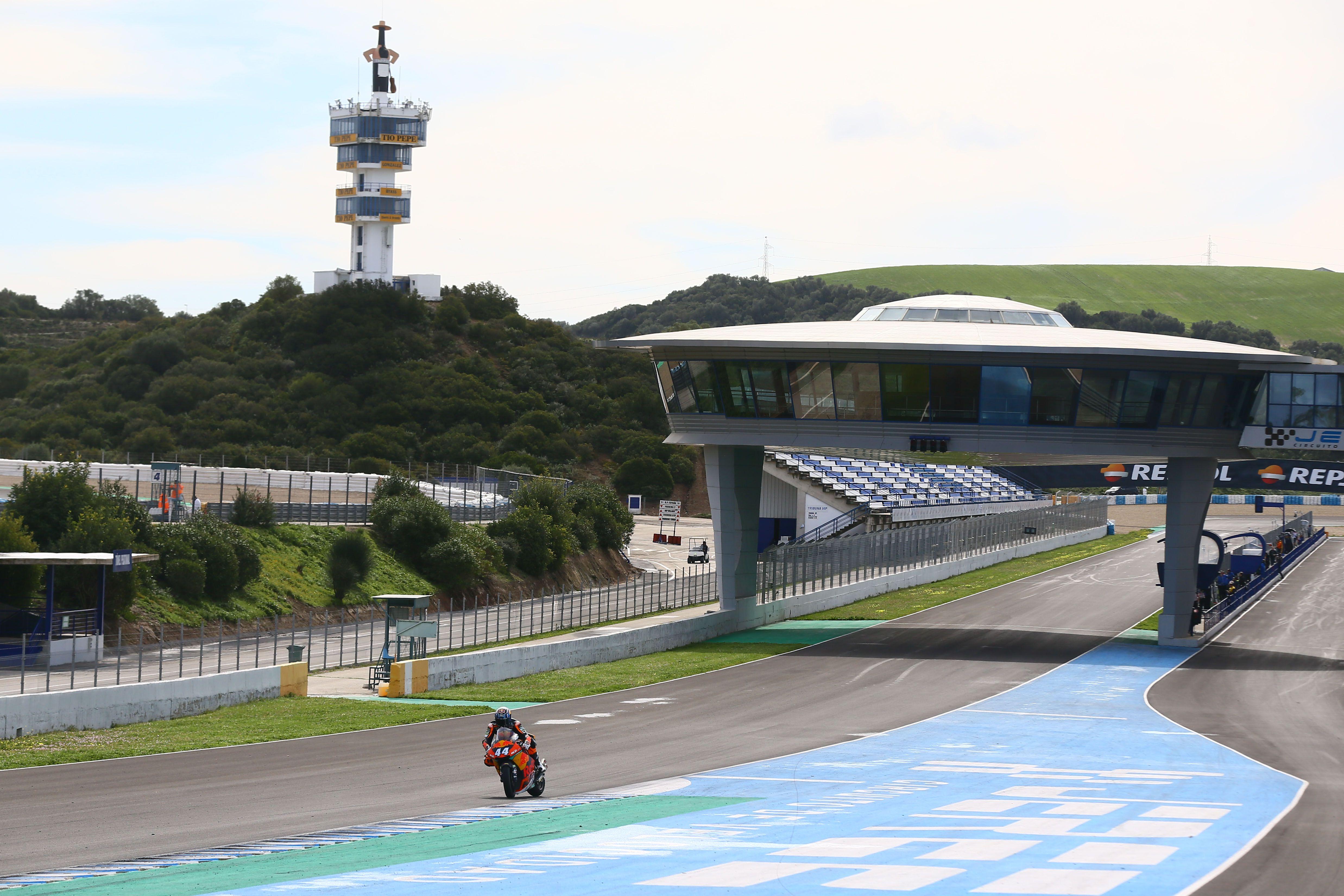 Circuito De Jerez : El circuito de jerez ya lleva el nombre de Ángel nieto