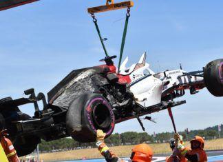 Marcus Ericsson's car