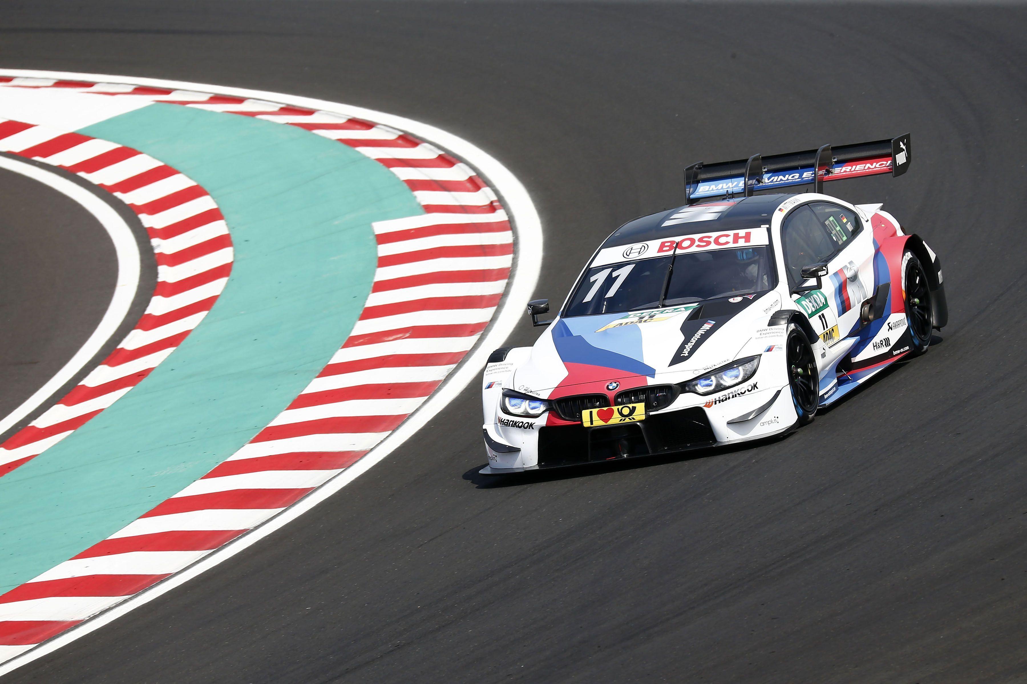 Marco Wittman gana bajo la lluvia del Hungaroring con triplete de BMW