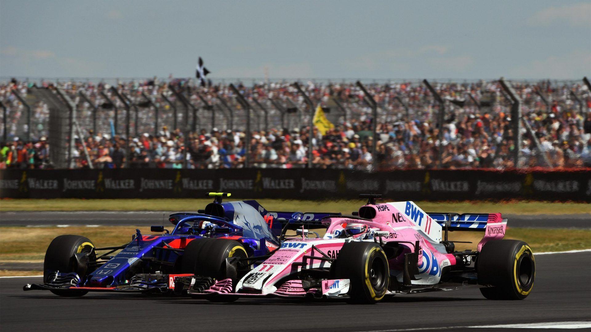 Pierre Gasly and Sergio Perez