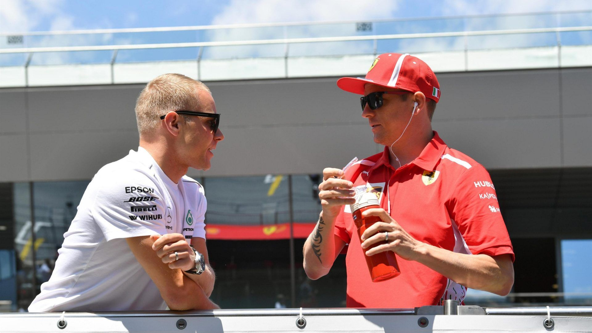 Mika Hakkinen on Valtteri Bottas and Kimi Raikkonen