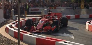 Sebastian Vettel crash