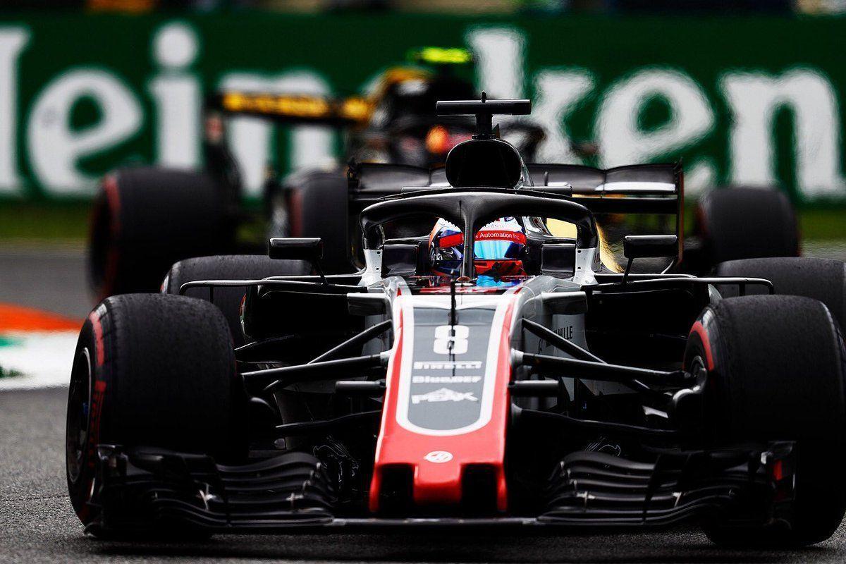 Romain Grosjean's Haas