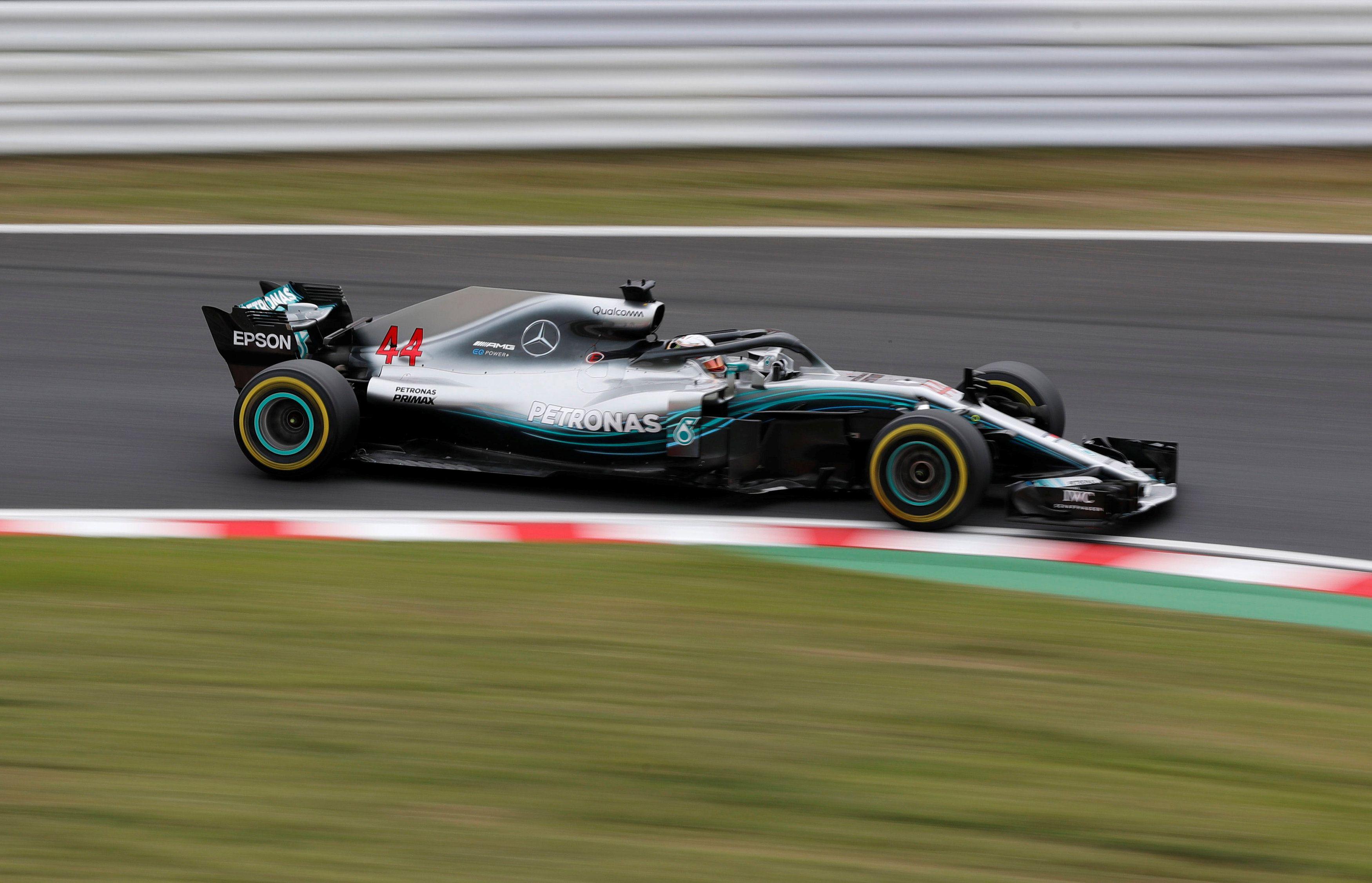 Mini Cup Car >> Japanese GP: Hamilton maintains Mercedes' dominance in FP2 at Suzuka