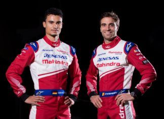 Pascal Wehrlein and Jerome D'Ambrosio