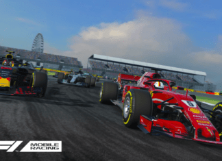F1 Mobile Racing game