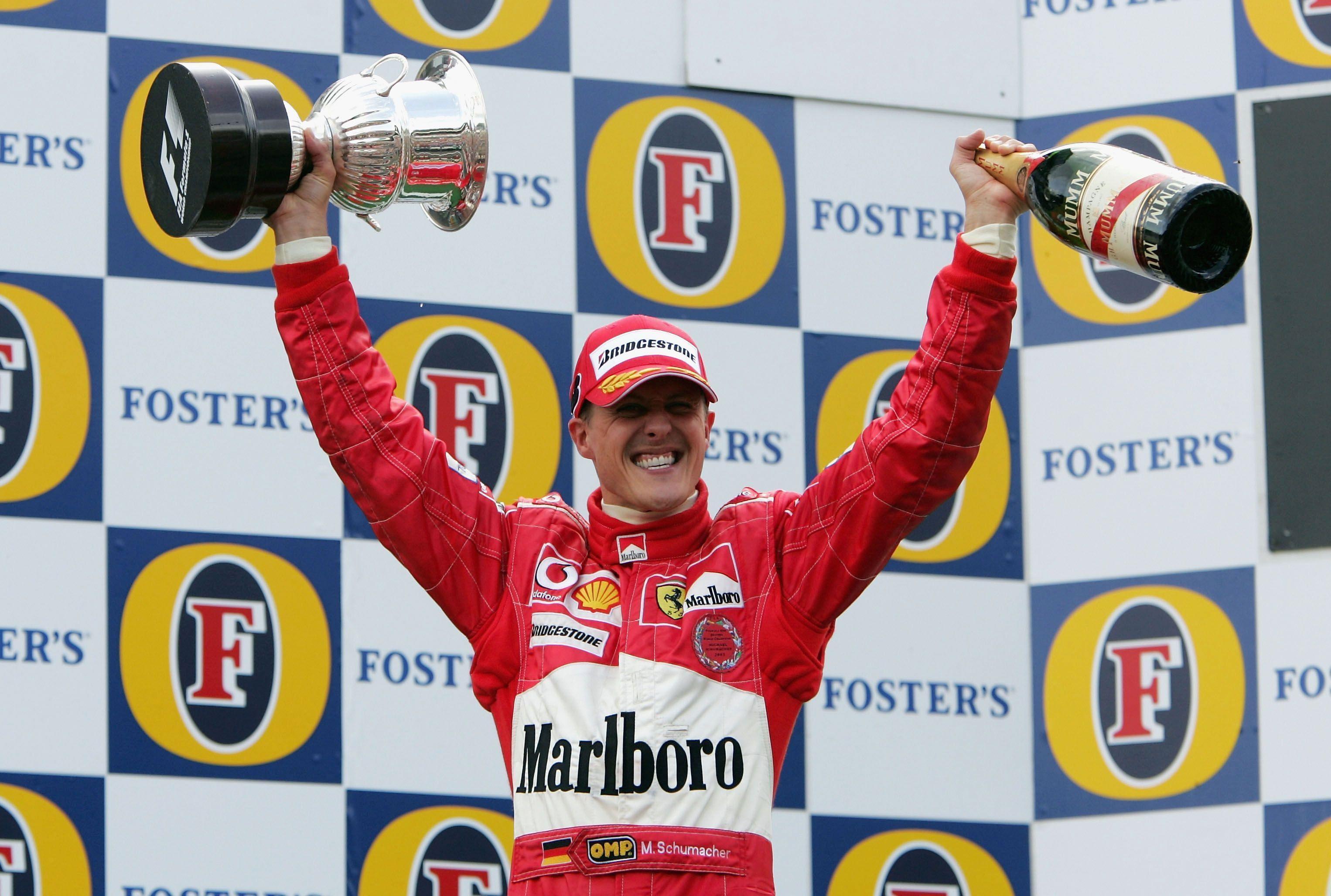 Schumacher dominó la F1