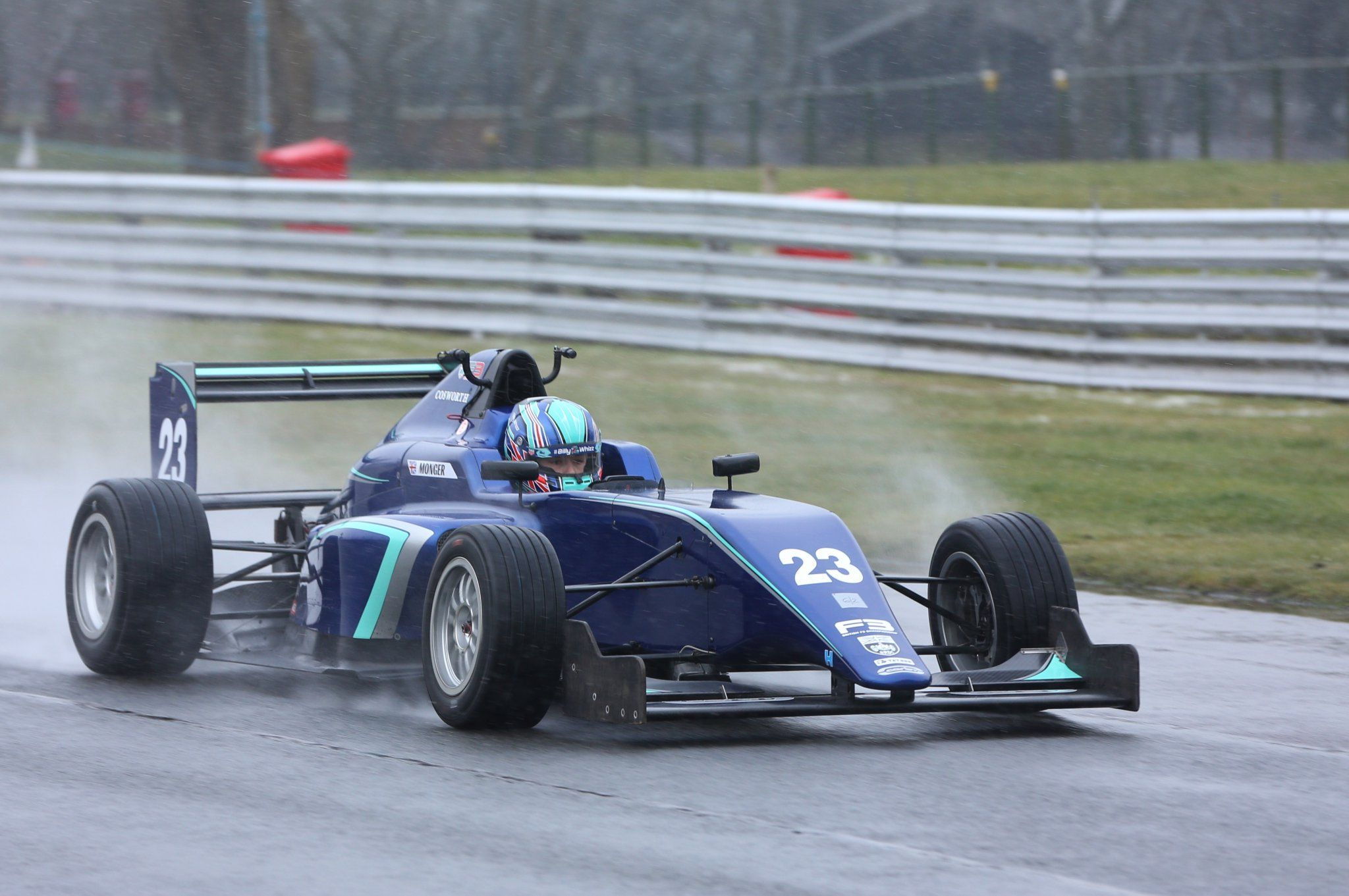 Billy Monger Drives A Single Seater Again Formularapida Net