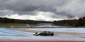 Norris tops day 1 testing paul ricard