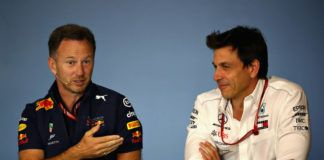 Red Bull's Christian Horner, Toto Wolff