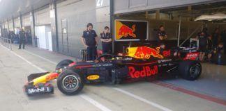 Pirelli tyre test