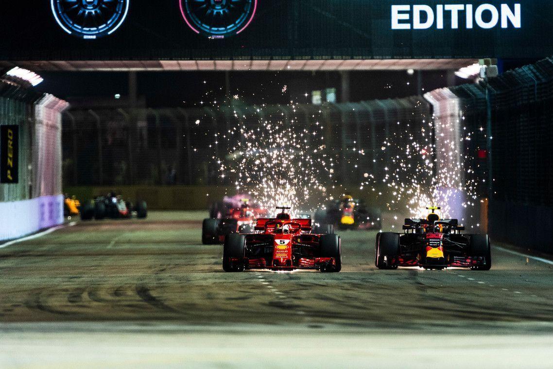 Mika Hakkinen on Sebasitian Vettel, Ferrari