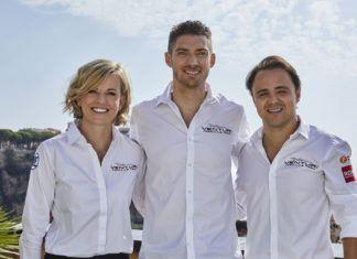 Susie Wolff, Edoardo Mortara, Felipe Massa