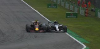 Max Verstappen and Valtteri Bottas