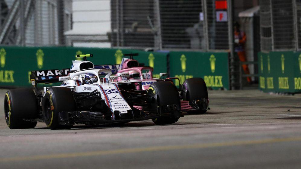 Sergio Perez, Sergey Sirotkin