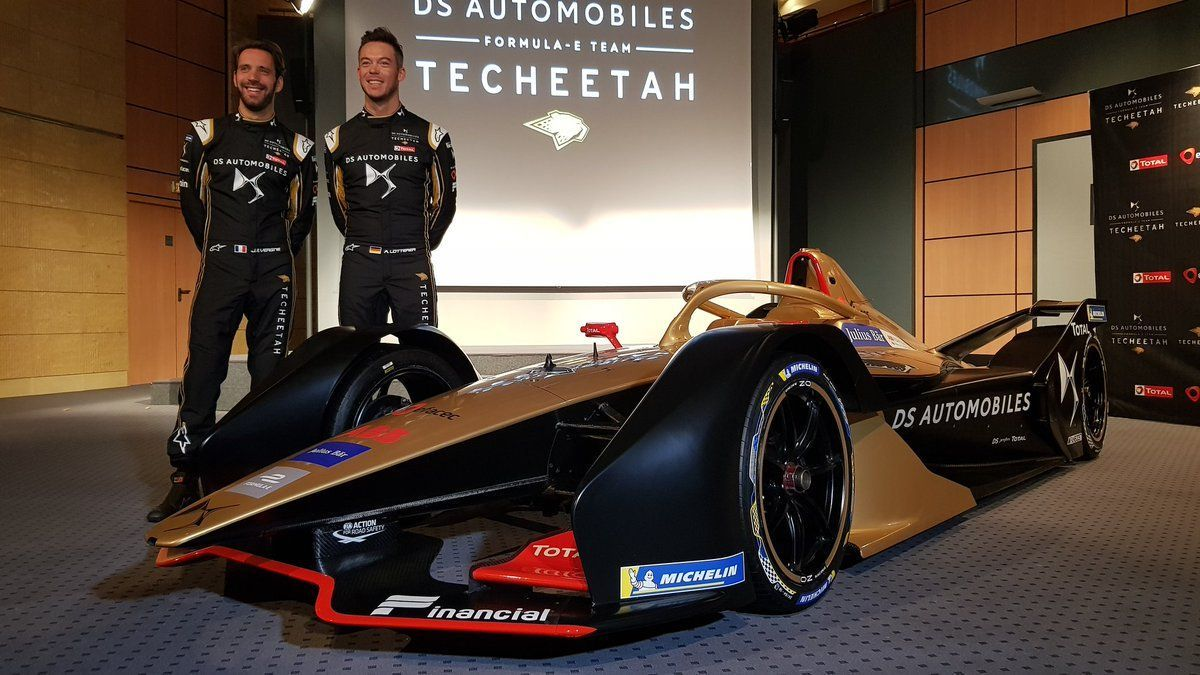 Ds Techeetah Reveals 2018 19 Formula E Car Of Vergne