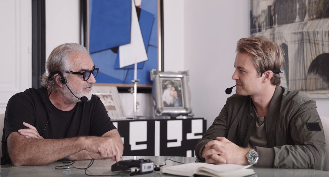 Flavio Briatore and Nico Rosberg