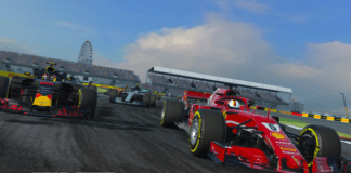 F1 Mobile Racing game