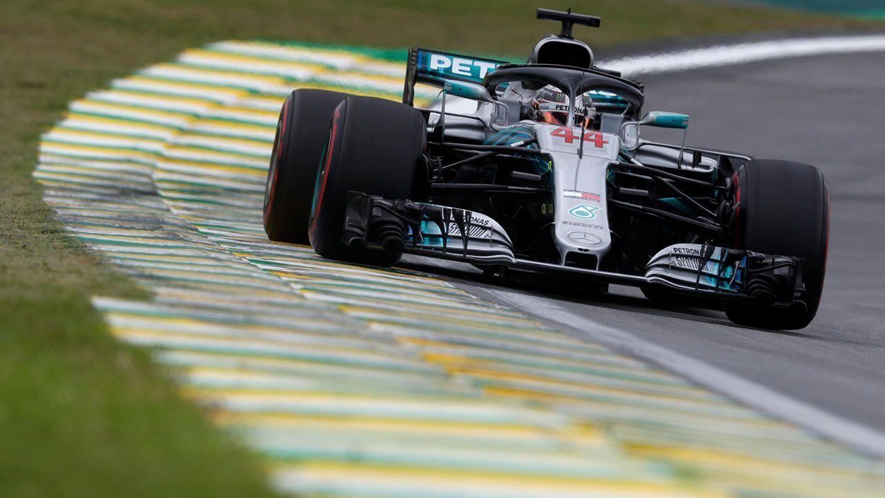 Brazil Gp Hamilton Wins As Mercedes Secures Constructors Title For