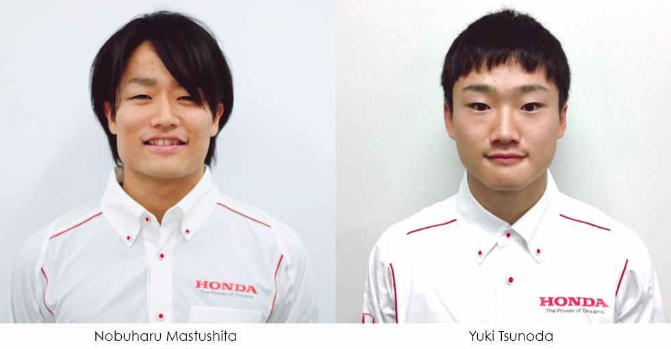Nobuharu Matsushita and Yuki Tsunoda
