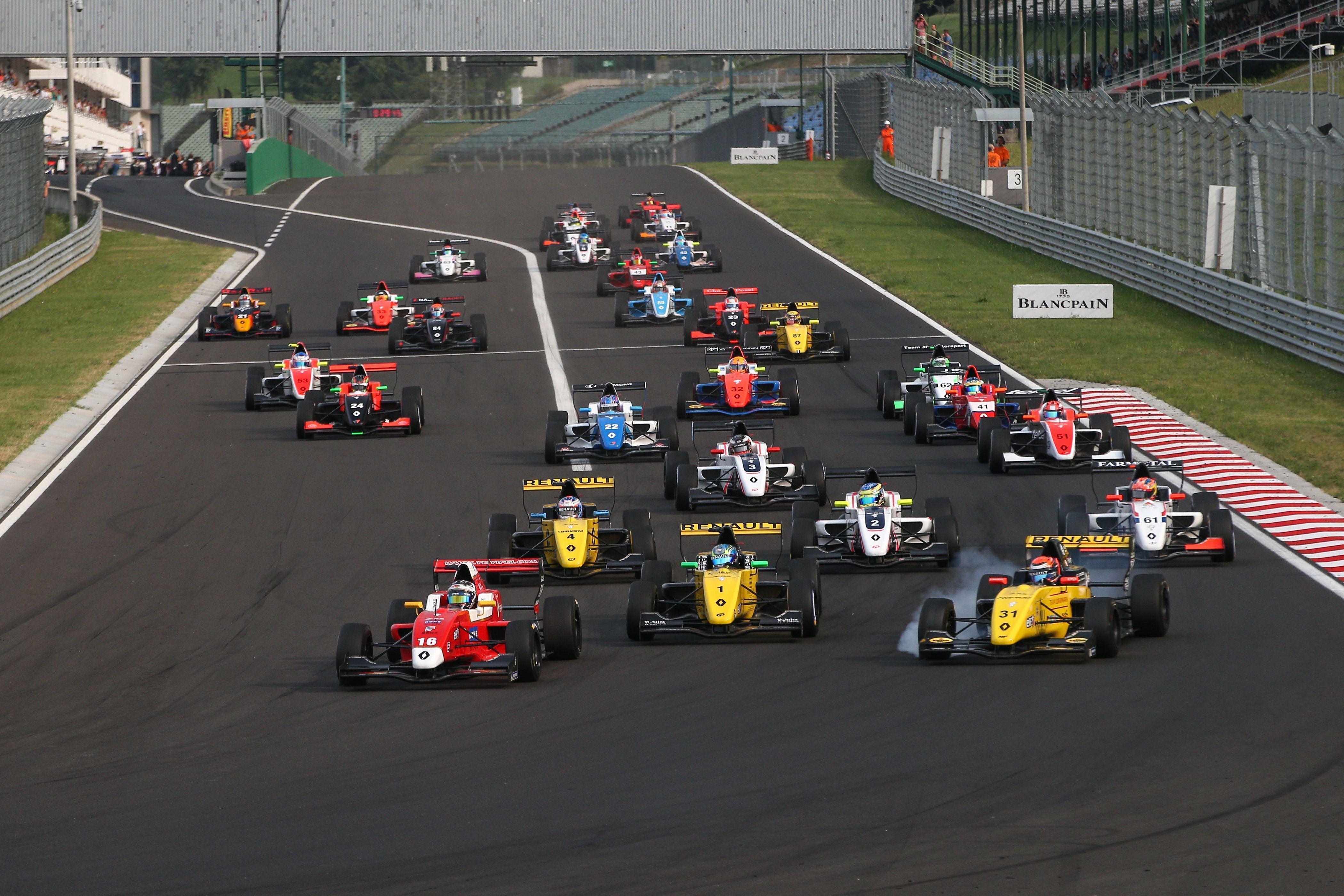 La Formule Renault Eurocup Annonce Son Calendrier Definitif