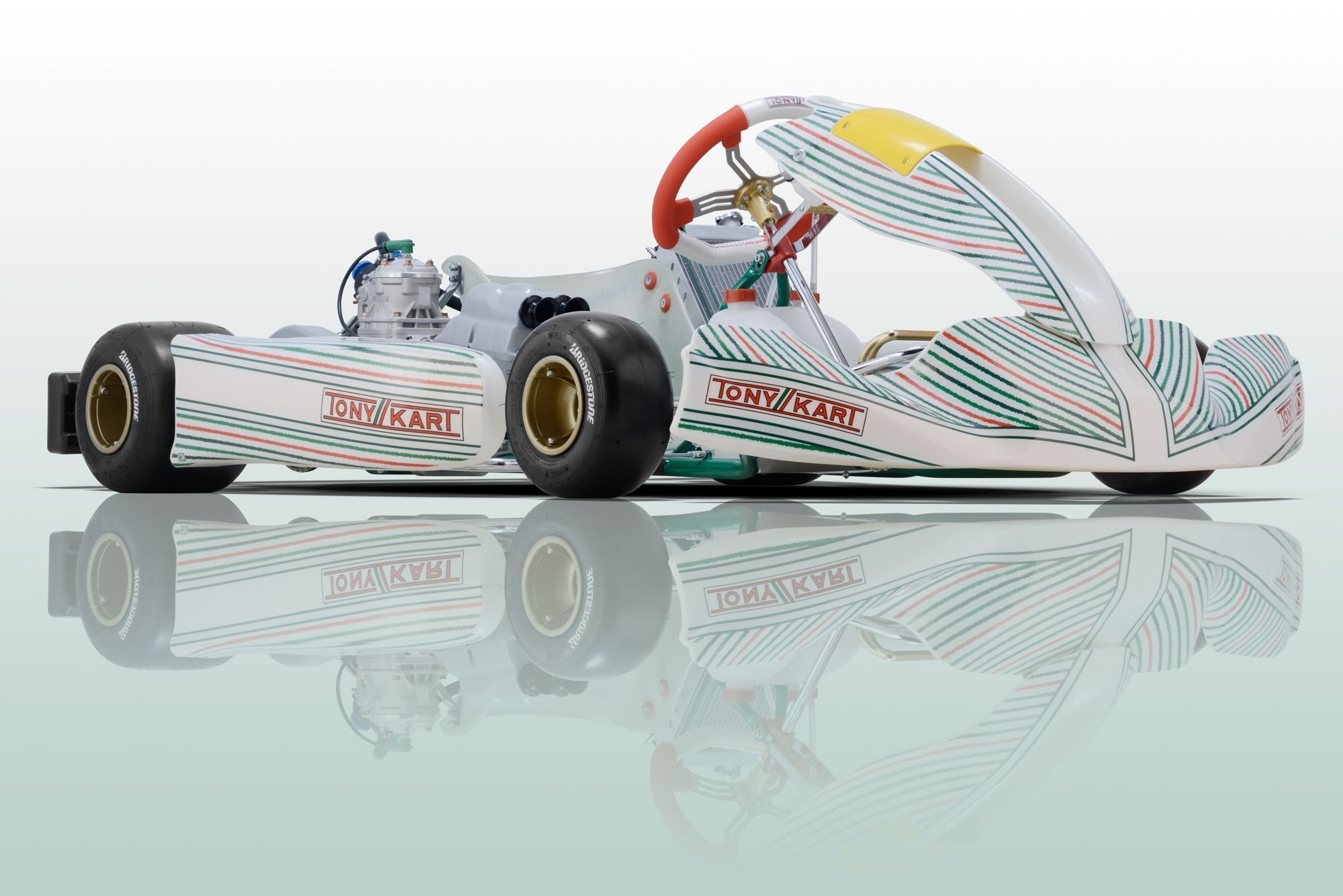 Tony Kart presents the new chassis: Racer 401R, Krypton 801R