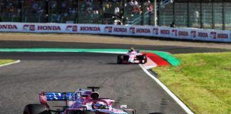 Sergio Perez, Esteban Ocon