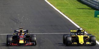 Nico Hulkenberg, Daniel Ricciardo