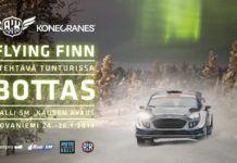 Rally banner, Valtteri Bottas