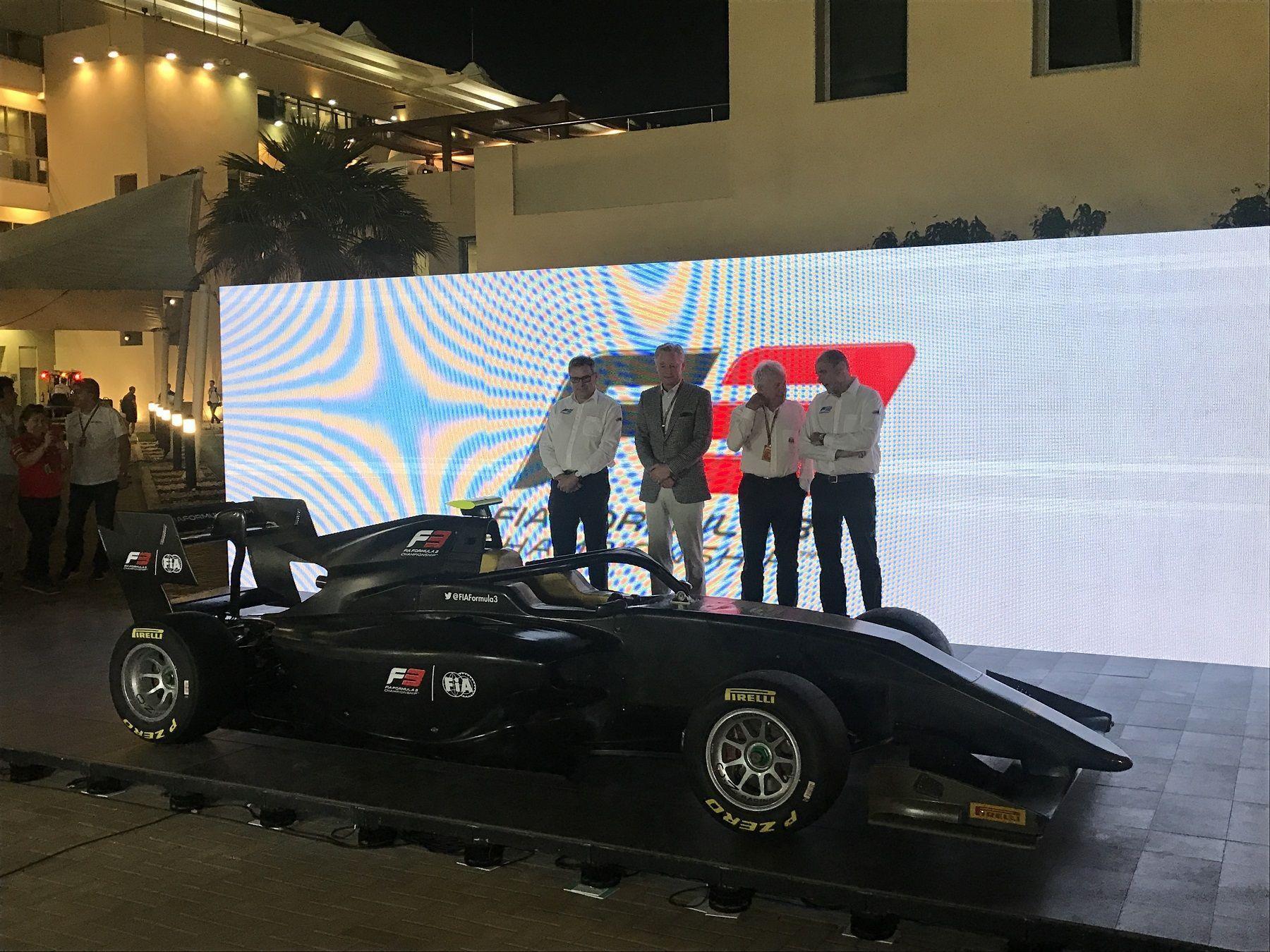 2019 F3 car