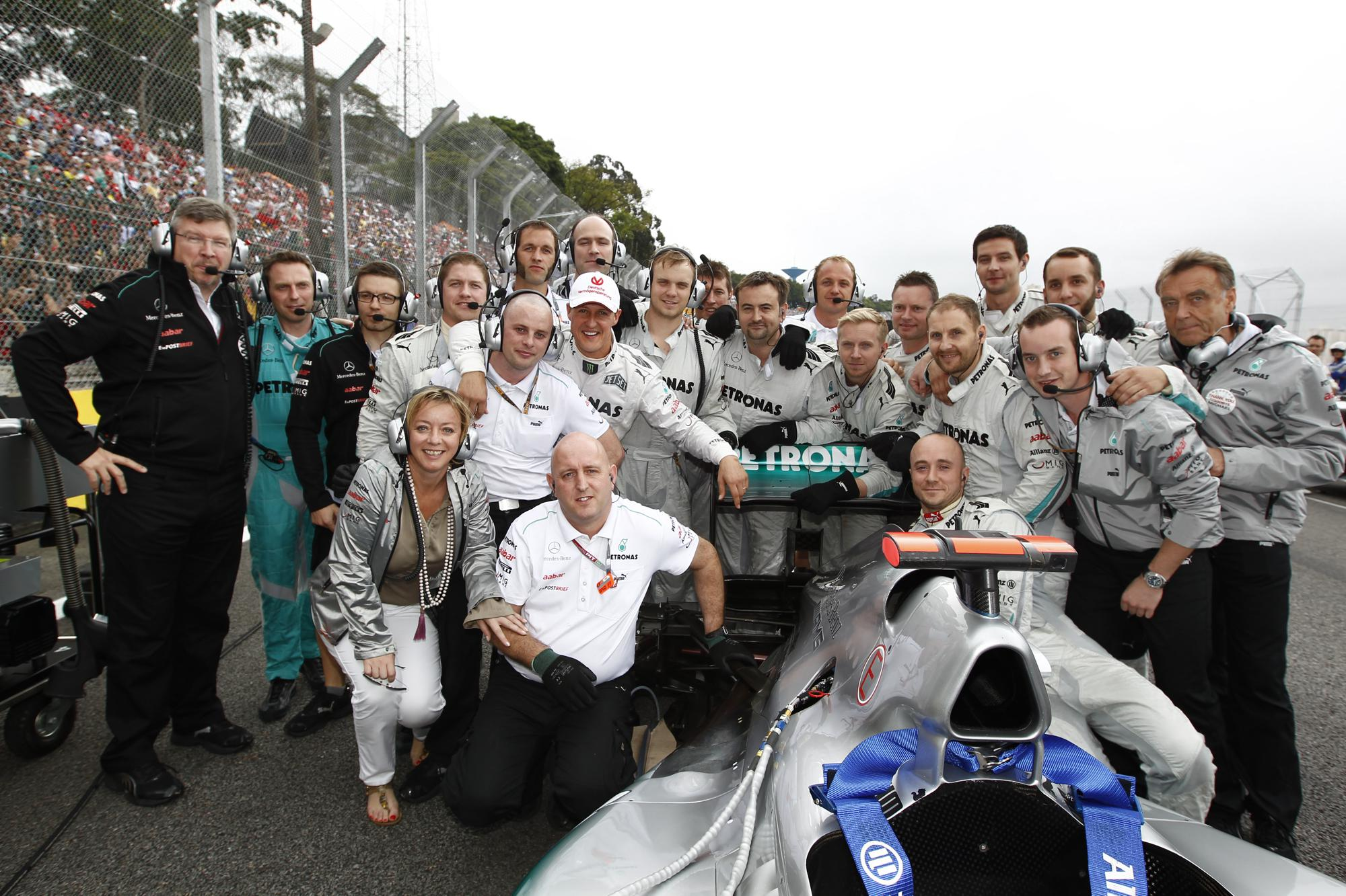 Michael Schumacher, F1