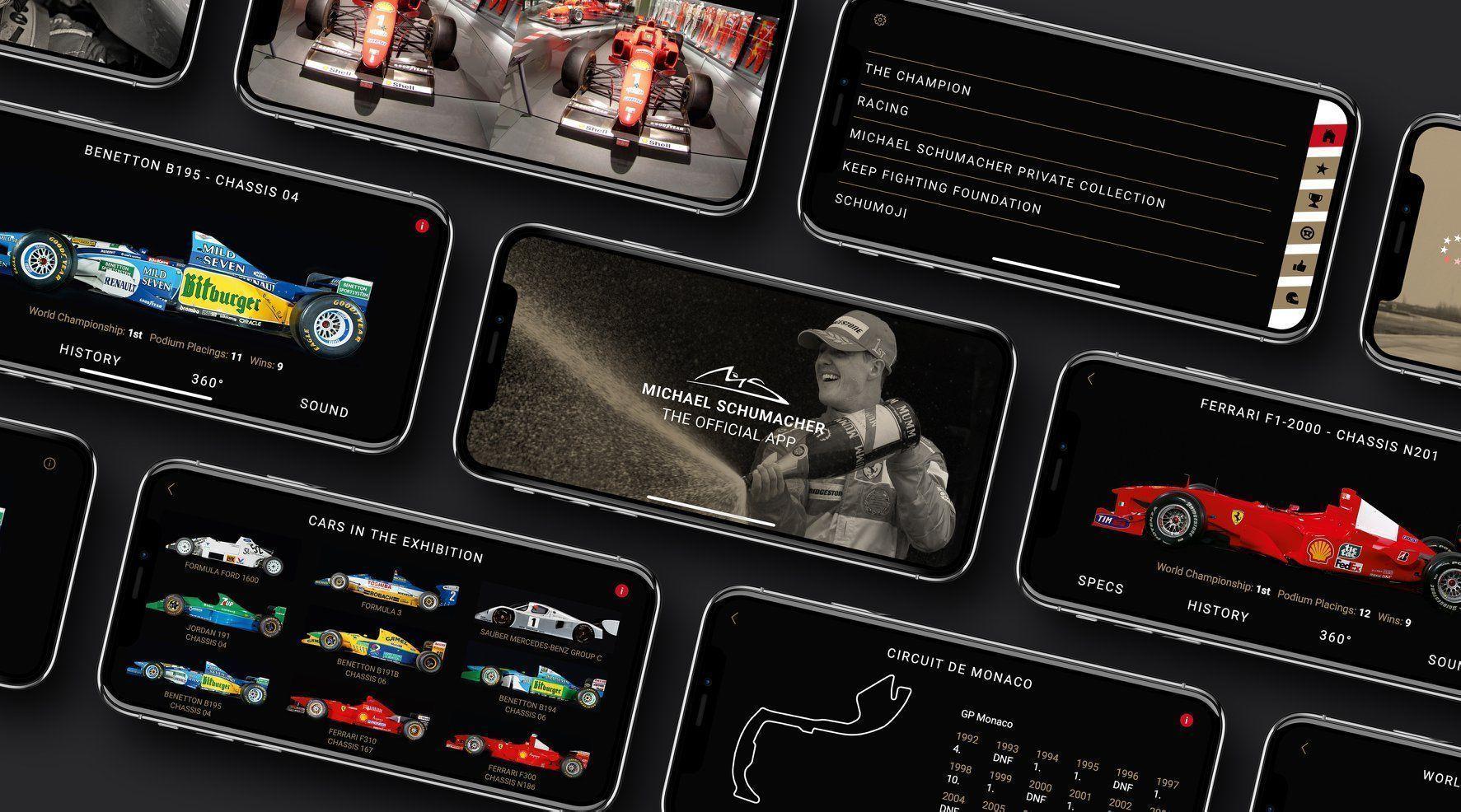 The Official Michael Schumacher App