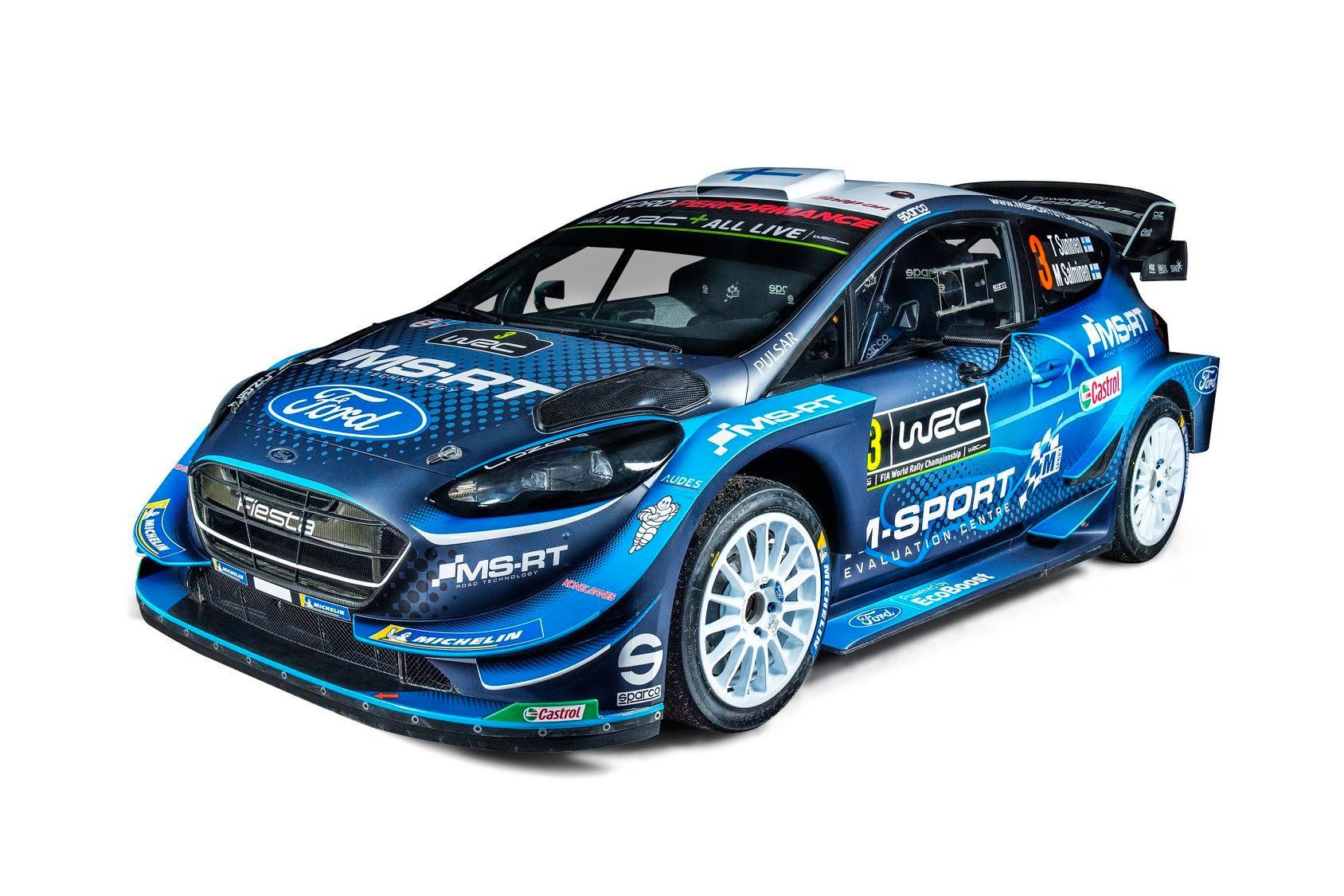 2019 M-Sport Ford Fiesta WRC