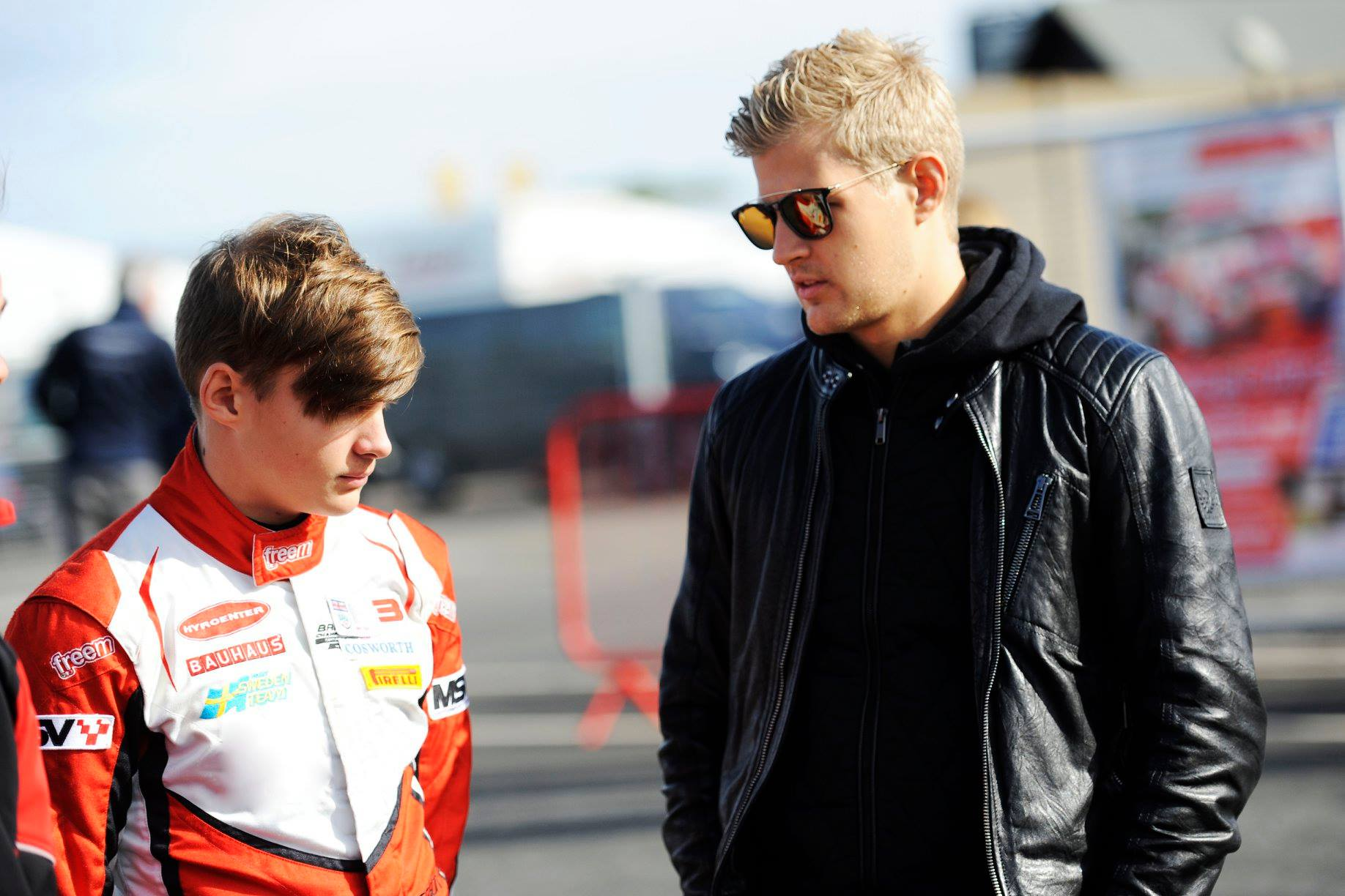 Hampus Ericsson, British F3 with Double R