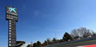 Barcelona F1 test