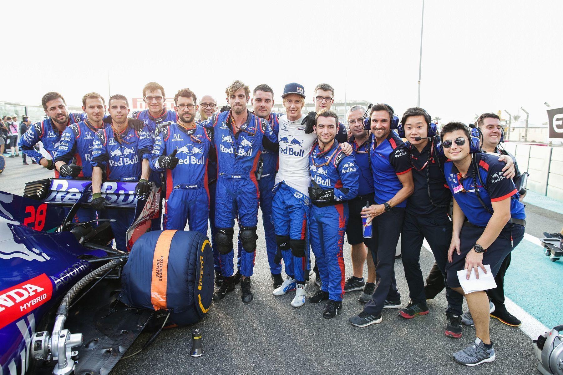 Brendon Hartley, F1