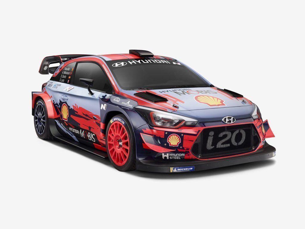 2019 Hyundai i20 Coupe WRC