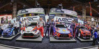 2019 WRC cars